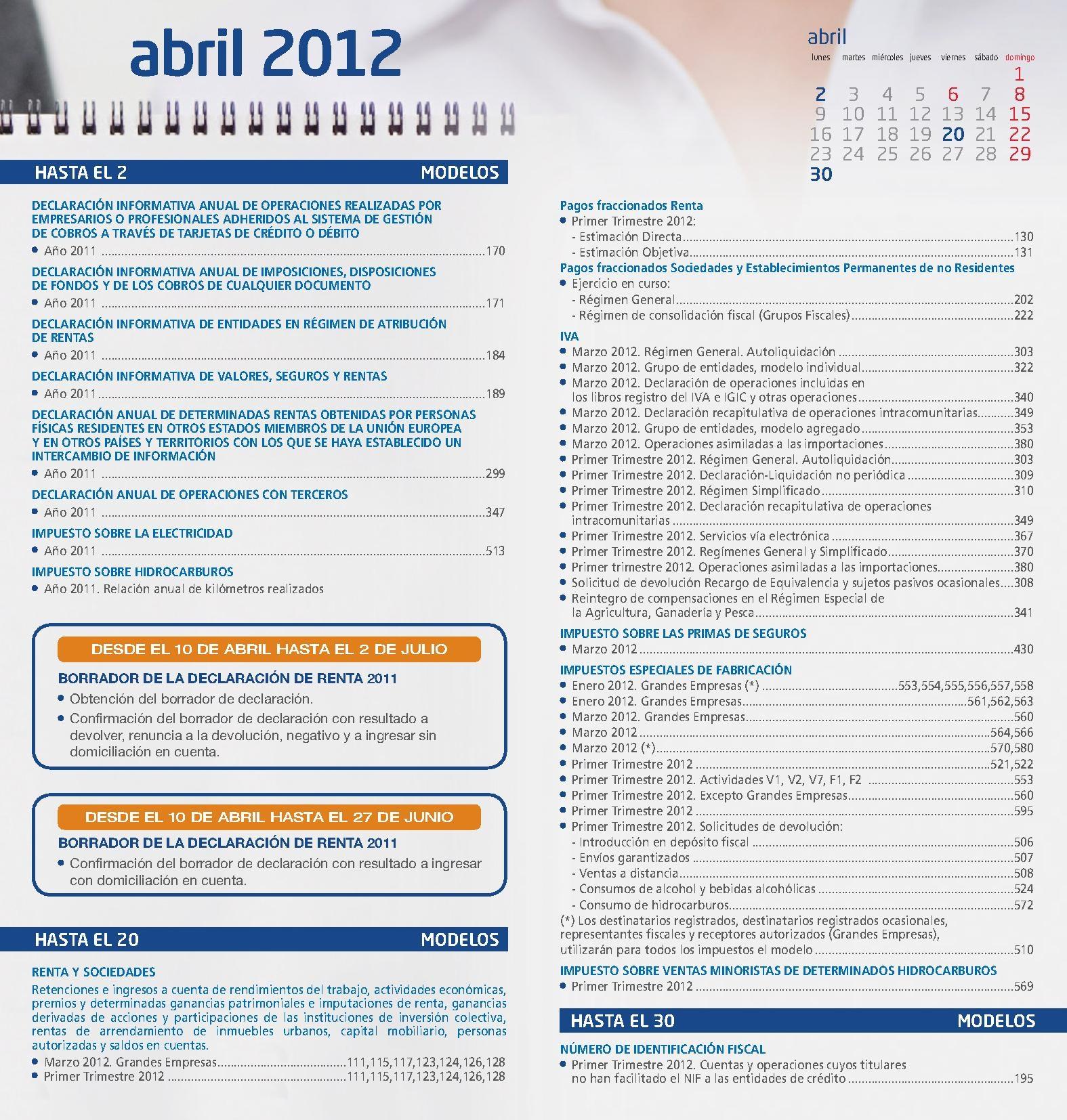 calendario-del-contribuyente-2012